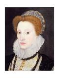 Portrait of a Woman (Said to Be Elizabeth I)  1576