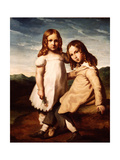 Alfred Dedreux (1810-60) as a Child with His Sister  Elisabeth  1816-17