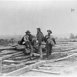 Three Confederate Prisoners  Gettysburg  Pennsylvania