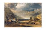 A Storm Passing Off on the Coast of Merionethshire  1818