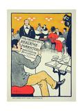 Reproduction of a Poster Advertising 'Wilhelm Soborg'  Copenhagen