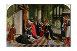 The Renunciation of Queen Elizabeth of Hungary  1850