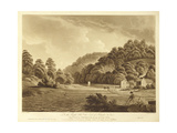 View at Redbrook in the River Wye  Plate 13 from 'Views of the River Wye'  Engraved by F Jukes …