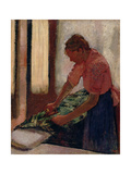 Woman Ironing  Early 1890s