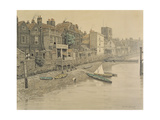 A Thames View Showing the Adam and Eve Tavern in Chelsea  1868