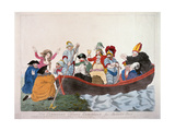 """Non Commission Officers Embarking for Botany Bay""  Depicting the Prince of Wales and Members of…"