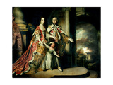 Earl and Countess of Mexborough  with their Son Lord Pollington  1761-64