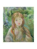 Little Girl at Mesnil  1892