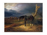 Ownerless Horse on the Battlefield at Moshaisk in 1812  1834