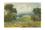 View of Holkham Hall  Norfolk  Engraved by Robert Havell (1769-1832) 1818