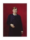 Portrait of the Composer Alexander Konstantinovich Glazunov (1865-1936) 1887