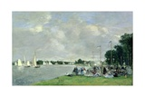 Regatta at Argenteuil  1866