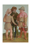 Three Peasants  16th or 17th Century