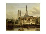 Quay in Rouen  1839