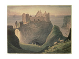 Dunluce Castle  County of Antrim  Ireland  Near the Giant's Causeway  C1835