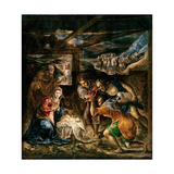 Adoration of the Shepherds  1572-76