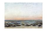Sunset  Trouville  C 1870