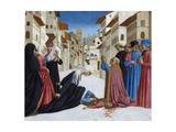 The Miracle of St Zenobius  1442-48