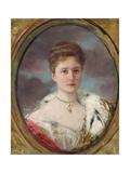Portrait of Tsarina Alexandra (1872-1918)  1898