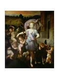 Allegorical Portrait of Diane De Poitiers (1499-1566) 1556