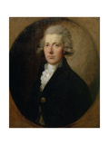 Portrait of William Pitt the Younger (1759-1806)  C1787