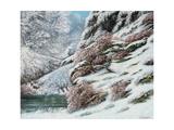 Deer in a Snowy Landscape  1867