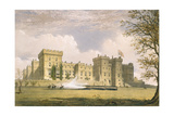South East View of Windsor Castle  from 'Windsor and its Surrounding Scenery'  1838