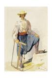 Greek Woodcutter  13 June 1856