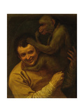 Man with Monkey  1590-91