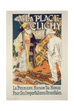 Reproduction of a Poster Advertising 'A La Place Clichy'  a Shop Specialising in Oriental Goods …