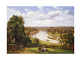 View of the River Thames from Richmond Hill