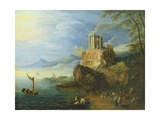 Sea Coast with the Temple of Vesta