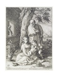 The Holy Family with St John  1593