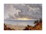 View from Shanklin  Isle of Wight  C1827