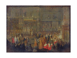 Coronation of Louis Xv (1710-74) 25th October 1722  1735