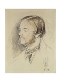 Portrait of Holman Hunt  1854