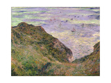 On the Cliff at Pourville  1882