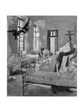 The Plague  from the 'Of Death  Part Two' Series  1898