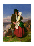 The Parting of Evangeline and Gabriel  C1870