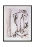 Pd33-1978 Woman at Her Toilet  C1890