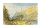 No1520 Bruderburgen on the Rhine  1817