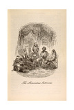 'The Momentous Interview'  from 'David Copperfield' by Charles Dickens (1812-70)