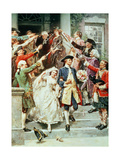 """Here Comes the Bride""  the Wedding of George and Martha Washington in 1759"