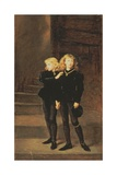 The Princes Edward and Richard in the Tower  1878