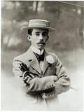 Portrait of Alberto Santos-Dumont (1873-1932)