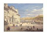 The Villa Medici  Rome  1685