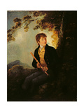 Portrait of the Artist's Son  JC Ibbetson Jnr  1801