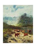 Ross-Shire Loch  1888