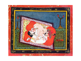 'The Posture of the Crow' from the Kama Sutra  Ecstatic Oral Intercourse Between a Prince and a…