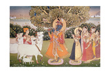 Eighth Incarnation of Vishnu as Krishna: Playing to the Gopis
